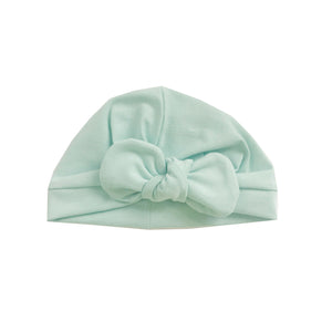 Mint bow turban