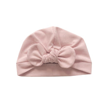 Load image into Gallery viewer, Baby pink bow turban