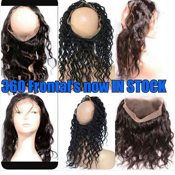 OPEN 360 Lace Frontal - deepwave