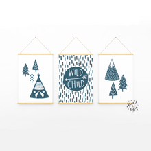 Load image into Gallery viewer, Wild Child Print Set