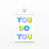 Home sweet home custom town print