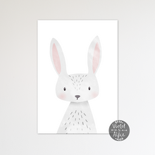 Load image into Gallery viewer, Cute Bunny Print - Violet and Alfie