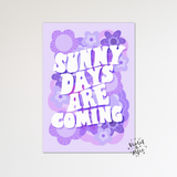 Believe in magic print - Violet and Alfie