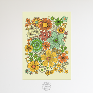 Home Sweet Home print - Violet and Alfie