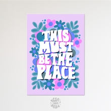 Load image into Gallery viewer, Home is wherever I'm with you print, Bedroom wall art - Violet and Alfie