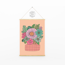 Load image into Gallery viewer, Love grows here print - Violet and Alfie