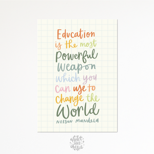 Love grows here print - Violet and Alfie