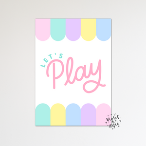blue nursery wall art, cute cloud print set, cloud prints uk, baby boy decor, boy nursery wall art