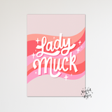 Cute Cloud Print Set - Violet and Alfie