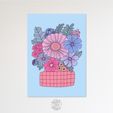 Love story quote print
