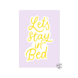 Stay wild print - Violet and Alfie