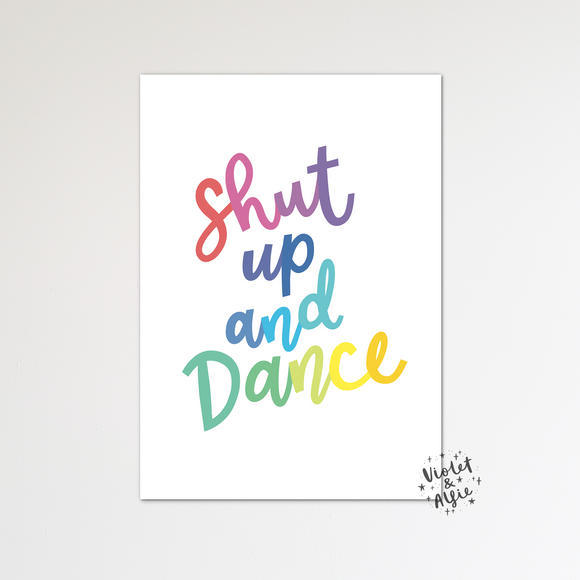 Move mountains print set - Violet and Alfie