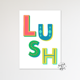 Love grows here print