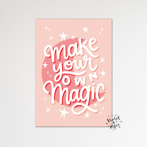 Sweet dreams moon nursery print - Violet and Alfie