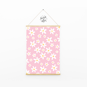 Watercolour rabbit print - Violet and Alfie