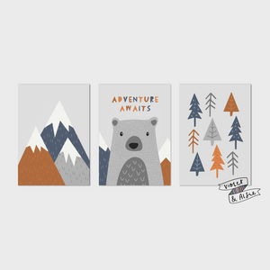 Adventure Awaits Print Set