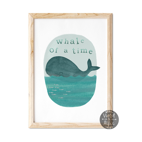 Whale wall art whale print whale print nautical wall art nautical prints Nautical Nursery Wall Art nautical kid's room decor