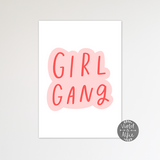 Girl Gang Print - Violet and Alfie