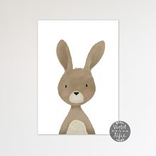 Load image into Gallery viewer, Woodland rabbit print - Violet and Alfie