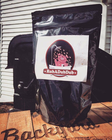 Backyard BBQ Club RubADubDub<BR>Award Winning Rub