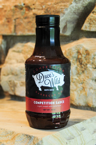 Duce's Wild Competition Sauce  18oz Bottle