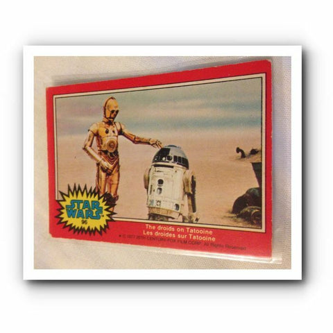 1977 Star Wars Movie Trading Card : Red No. 96 - Topps Cards - One Supplied