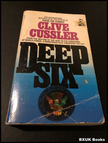 Deep Six by Clive Cussler (Paperback 1984) Pocket Books Edition