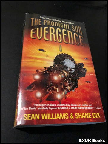 Evergence 1: The Prodigal Sun by Sean Williams, Shane Dix (Paperback, 2001)