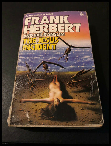 The Jesus Incident by Frank Herbert, Bill Ransom (Paperback, 1980 Edition) #TJI