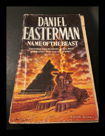 The Name of the Beast by Daniel Easterman (Paperback, 1993)