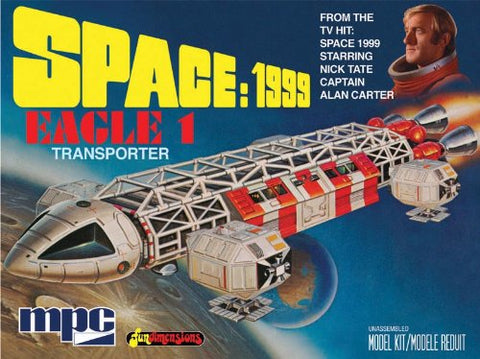 Space 1999 Eagle-1 Transporter Model Kit - by MPC