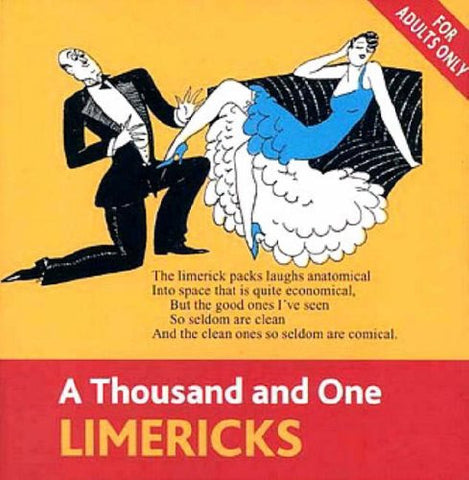 A Thousand and One Limericks (Book Blocks) Hardcover – 28 Aug 2003