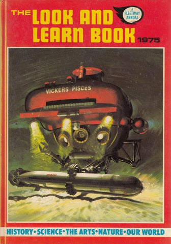 The Look and Learn Book 1975 Hardcover – 1975
