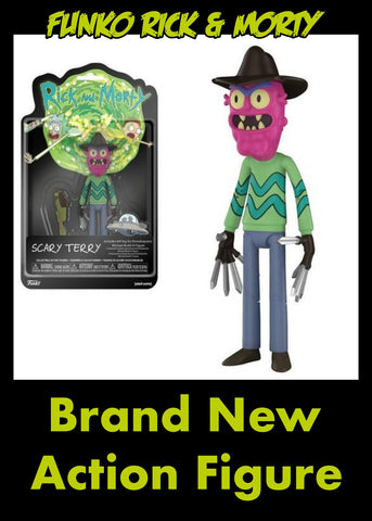 RICK AND MORTY SCARY TERRY 13CM ACTION FIGURE
