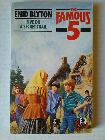 Five on a Secret Trail Paperback by Enid Blyton