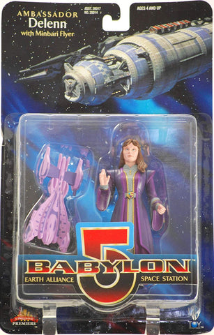 Babylon 5 Ambassador Delenn Action Figure - New