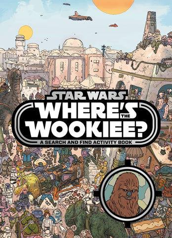 Star Wars: Where's the Wookiee? Search and Find Book Paperback New