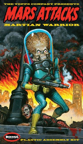 Moebius Mars Attacks Martian Figure Model Kit - New