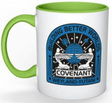 Alien Covenant Weyland-Yutani Coffee Tea White Porcelain Mug - Novelty Gift