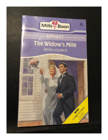 The Widow's Mite by Emma Goldrick (Paperback 1992) A Mills & Boon Book