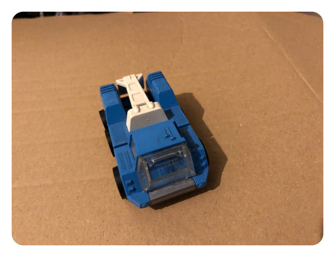 Tonka 6 Wheel Blue Colour Tow Truck (Circa 1970s)