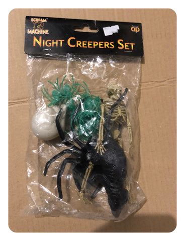 Prop Halloween Night Creepers Set - Mixed Contents - New