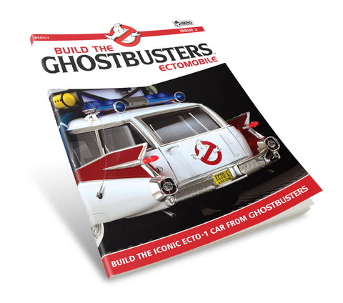 Build the Ghostbusters Ectomobile Part Works Model Series (Coming Soon)