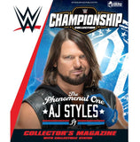 WWE Championship Figurine Collection: WWE AJ Styles Magazine & Statue - Issue 1