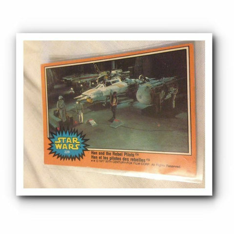 1977 Star Wars Movie Trading Card : Orange No. 229 - Topps Card - One Supplied