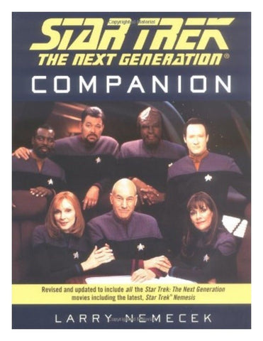 Star Trek : The Next Generation Companion by Larry Nemecek (Paperback, 1995)