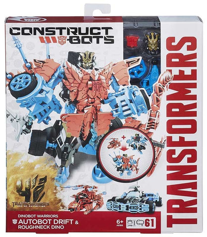 TRANSFORMERS MVE 4 CONSTRUCT A BOTS DINOBOT WARRIORS