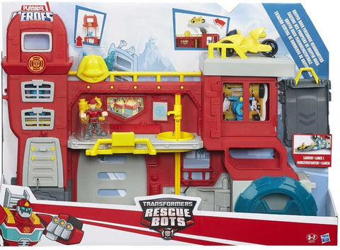 TRANSFORMERS RESCUE BOT HEADQUARTERS