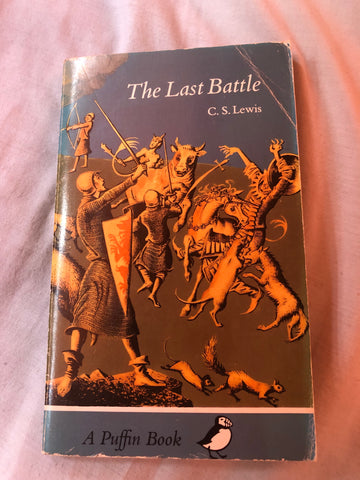 The Last Battle by C. S. Lewis (Paperback 1972)