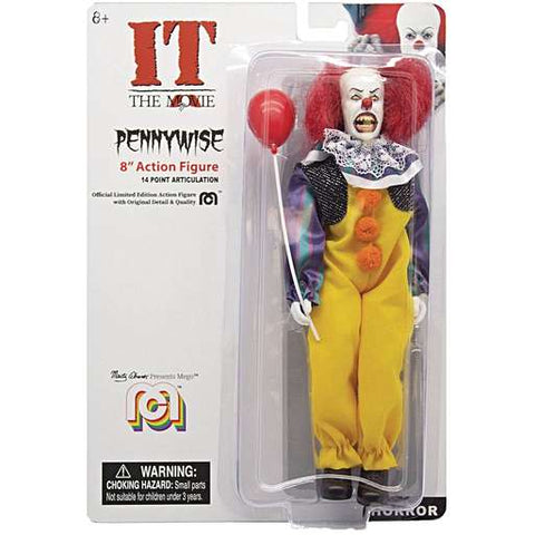 Mego Pennywise Action Figure (IT 1990 Version) 2019 Issue